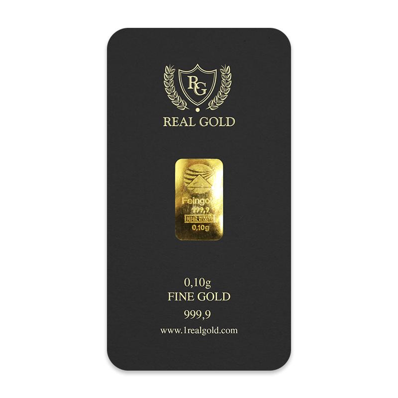 0.1 gram Gold bar